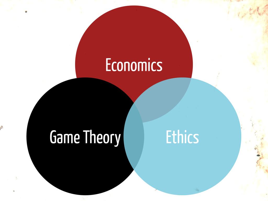 Economics Game Theory Ethics