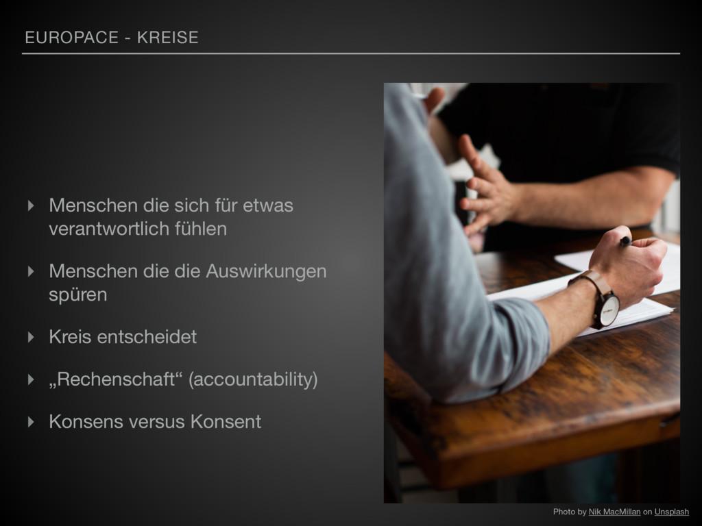 EUROPACE - KREISE ▸ Menschen die sich für etwas...
