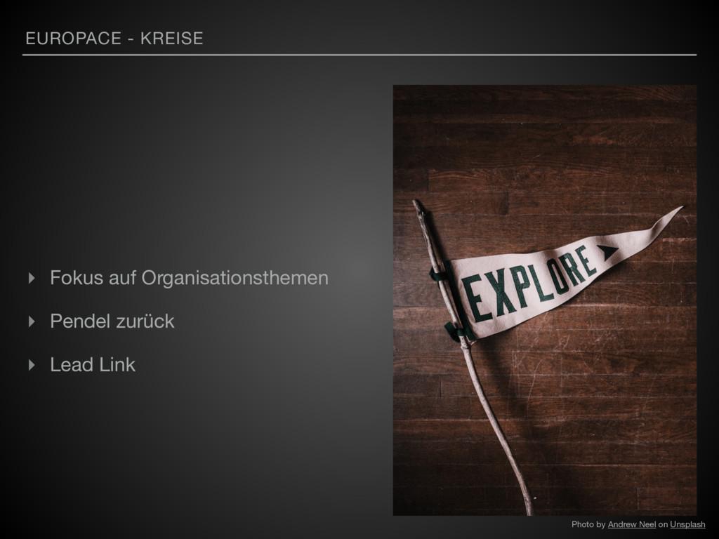 EUROPACE - KREISE ▸ Fokus auf Organisationsthem...