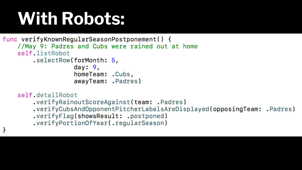 With Robots: