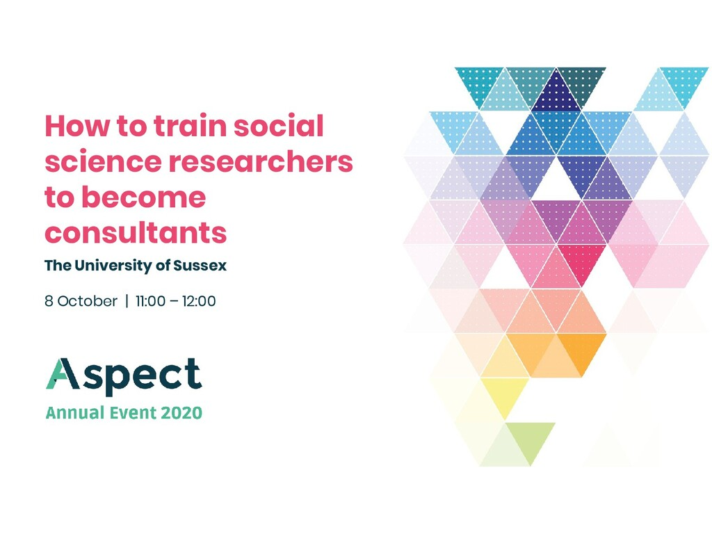 How to train social science researchers to beco...