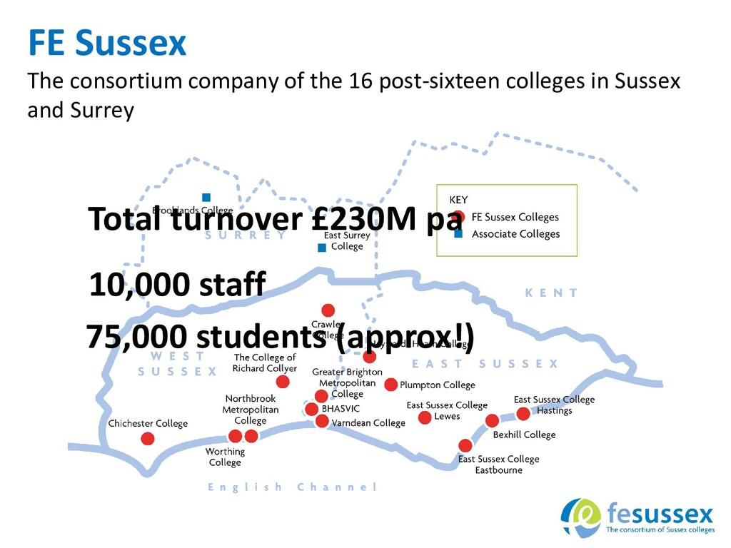 FE Sussex The consortium company of the 16 post...