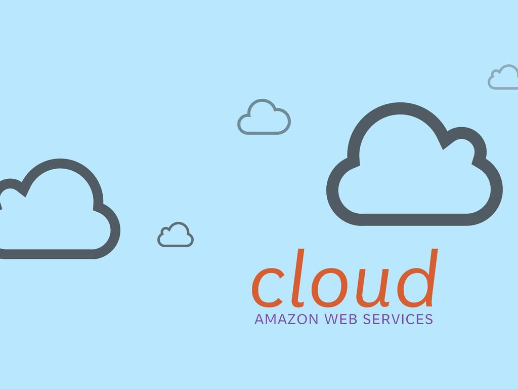 cloud amazon web services