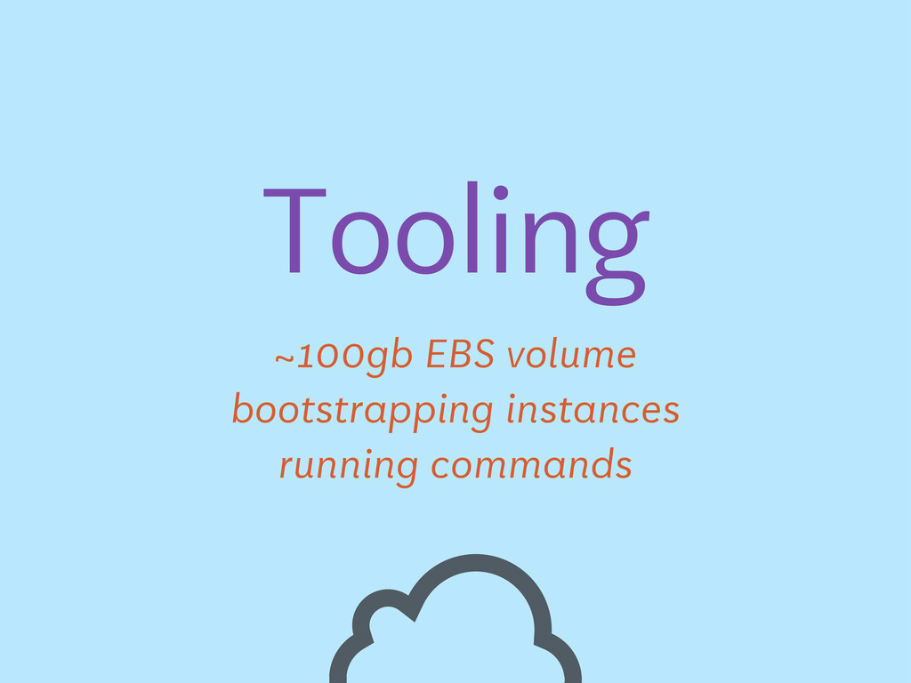 Tooling ~100gb EBS volume bootstrapping instanc...
