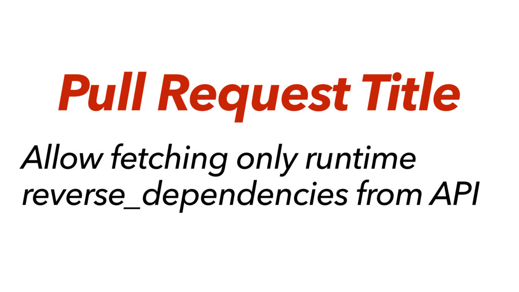 Allow fetching only runtime reverse_dependencie...