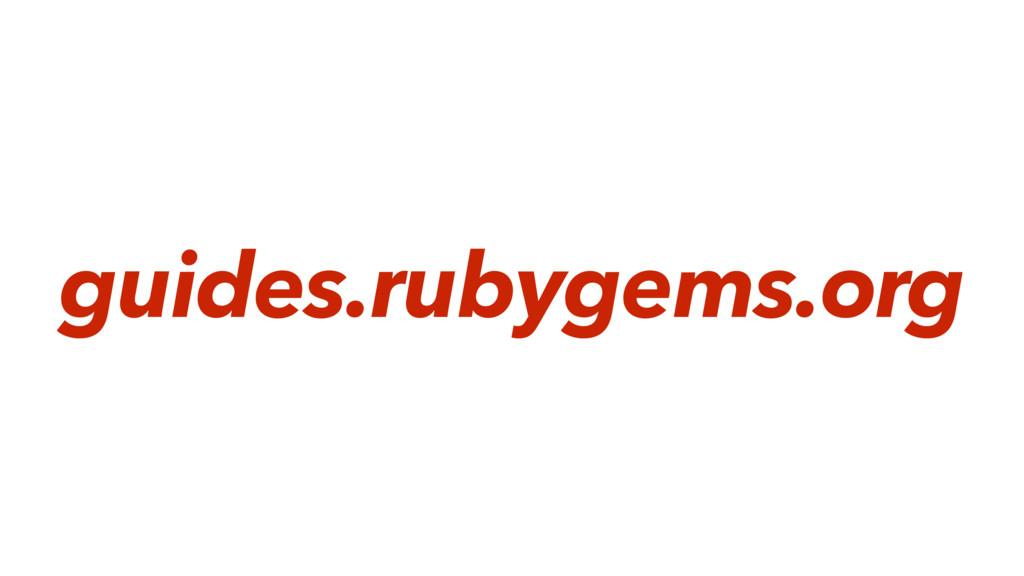 guides.rubygems.org