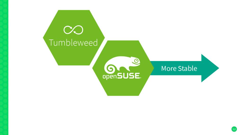 52 More Stable Tumbleweed