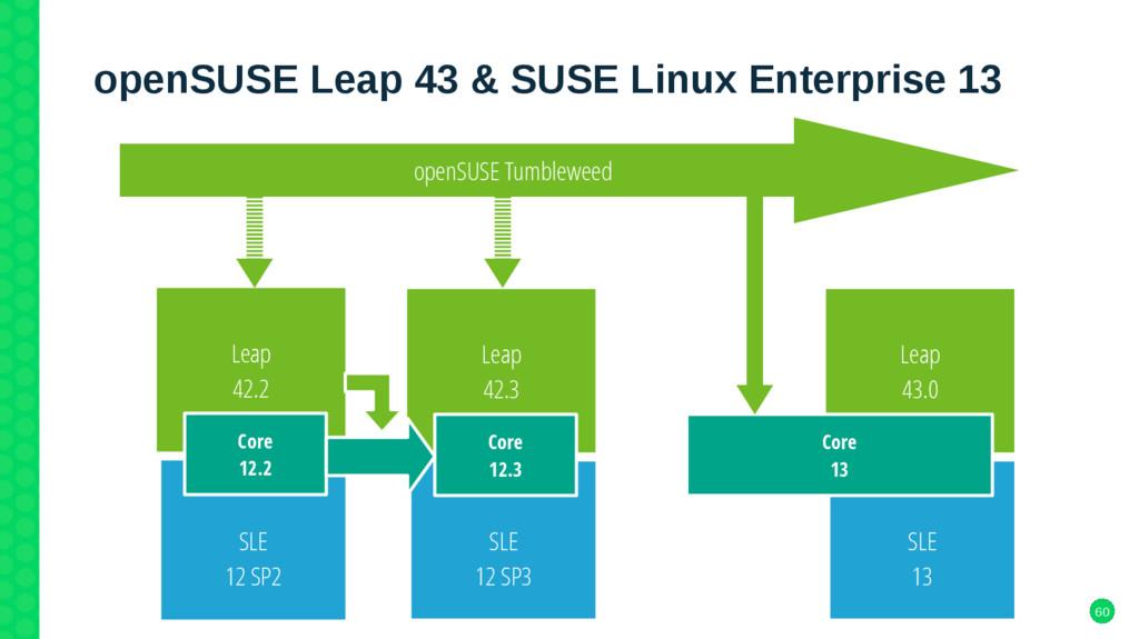 60 openSUSE Leap 43 & SUSE Linux Enterprise 13 ...