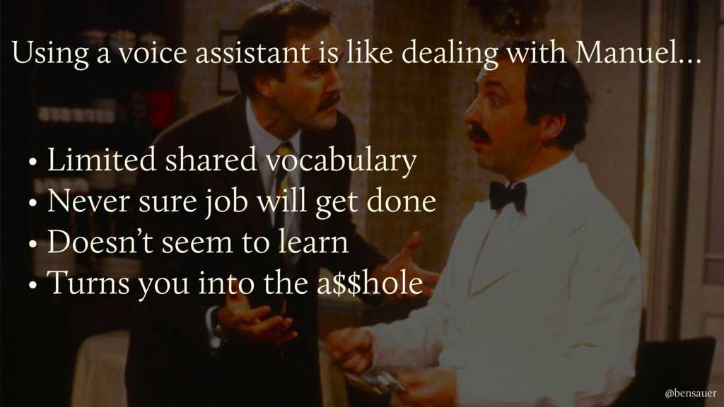 • Limited shared vocabulary • Never sure job wi...
