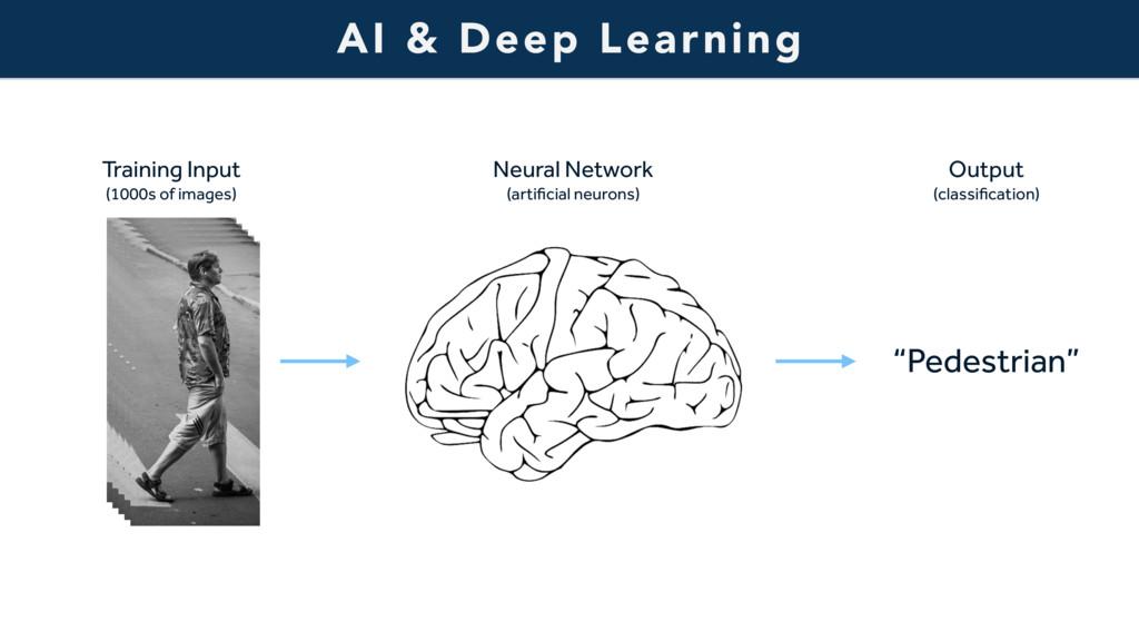 AI & Deep Learning Training Input  (1000s of i...