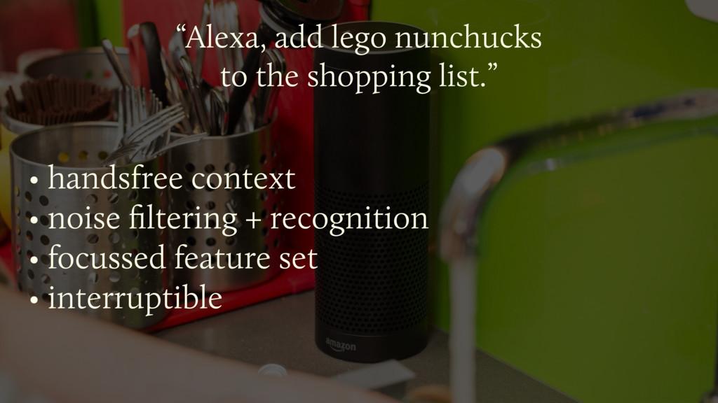 """Alexa, add lego nunchucks  to the shopping li..."