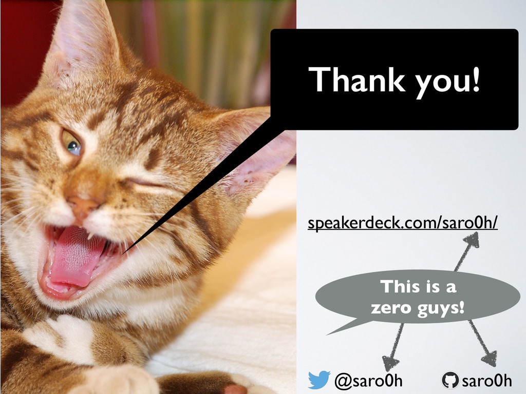 Thank you! @saro0h speakerdeck.com/saro0h/ saro...