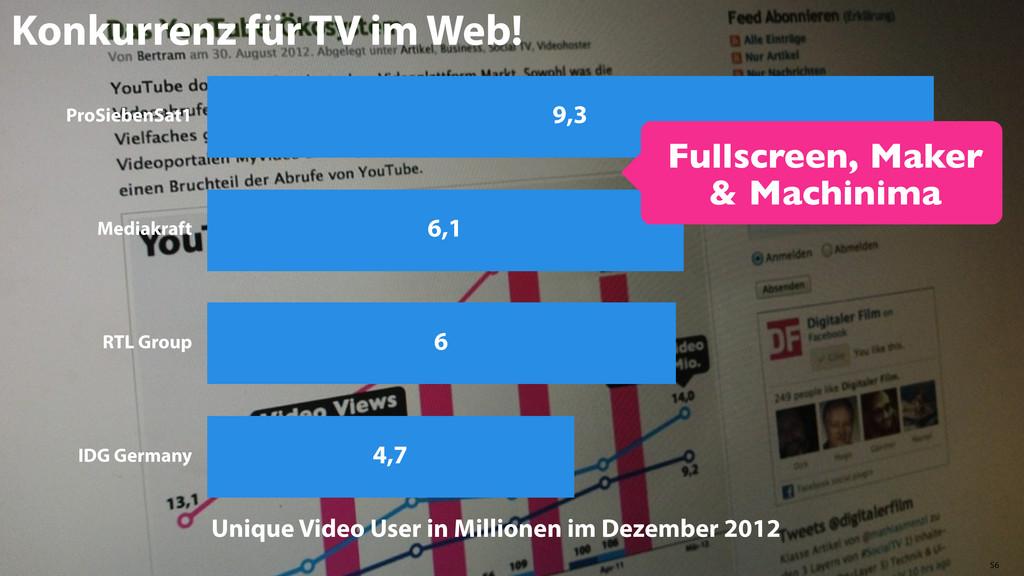 56 ProSiebenSat1 Mediakraft RTL Group IDG Germa...