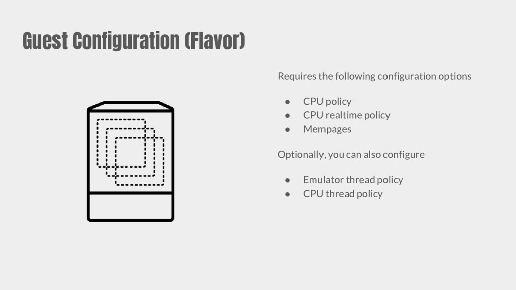 Guest Configuration (Flavor) Requires the follo...