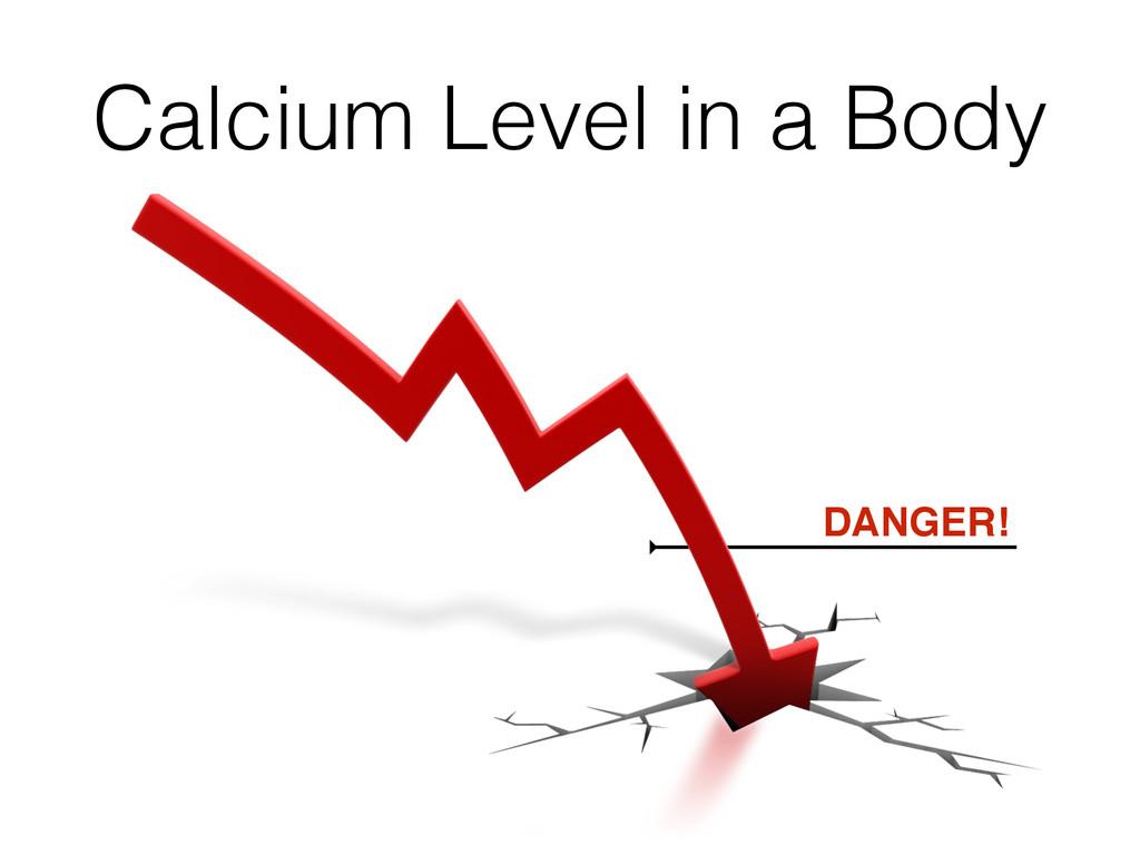 Calcium Level in a Body DANGER!