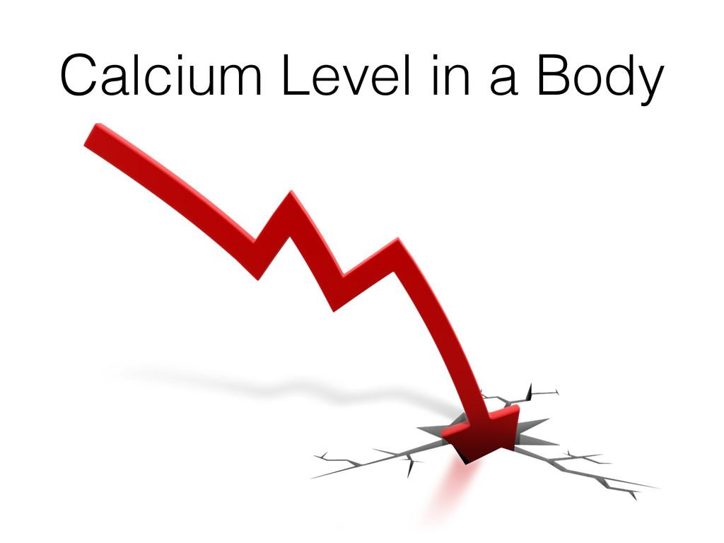 Calcium Level in a Body