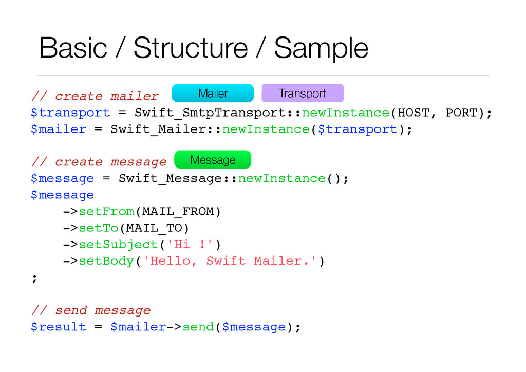 Basic / Structure / Sample // create mailer! $t...