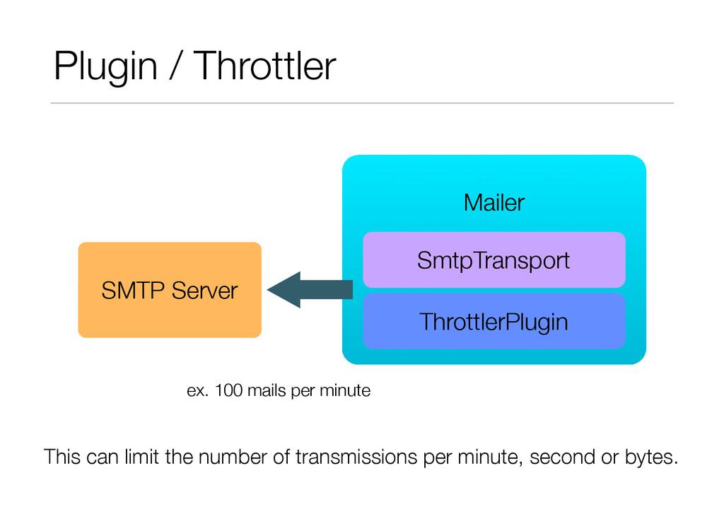 Plugin / Throttler ! Mailer SmtpTransport SMTP ...