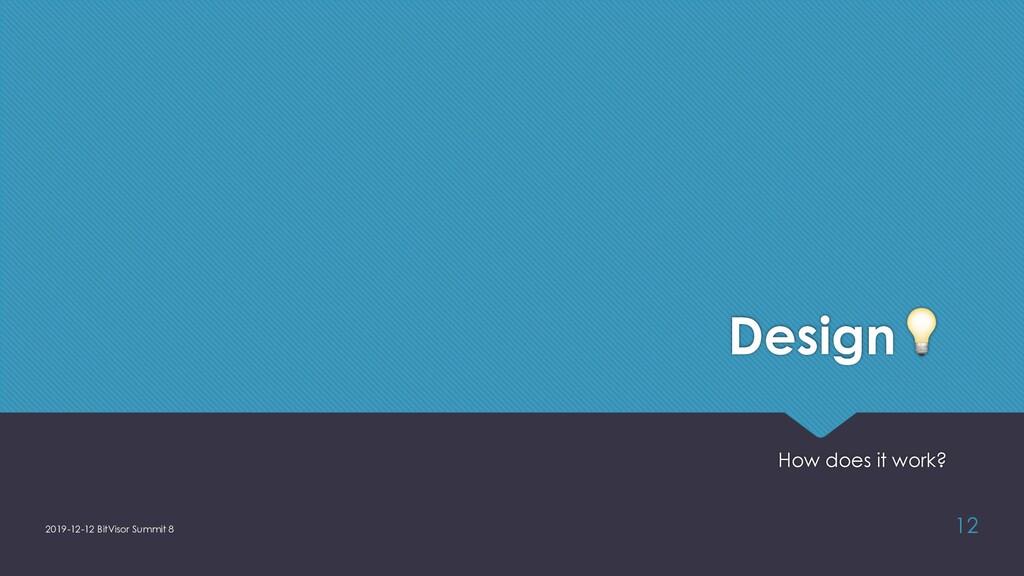 Design! How does it work? 2019-12-12 BitVisor S...