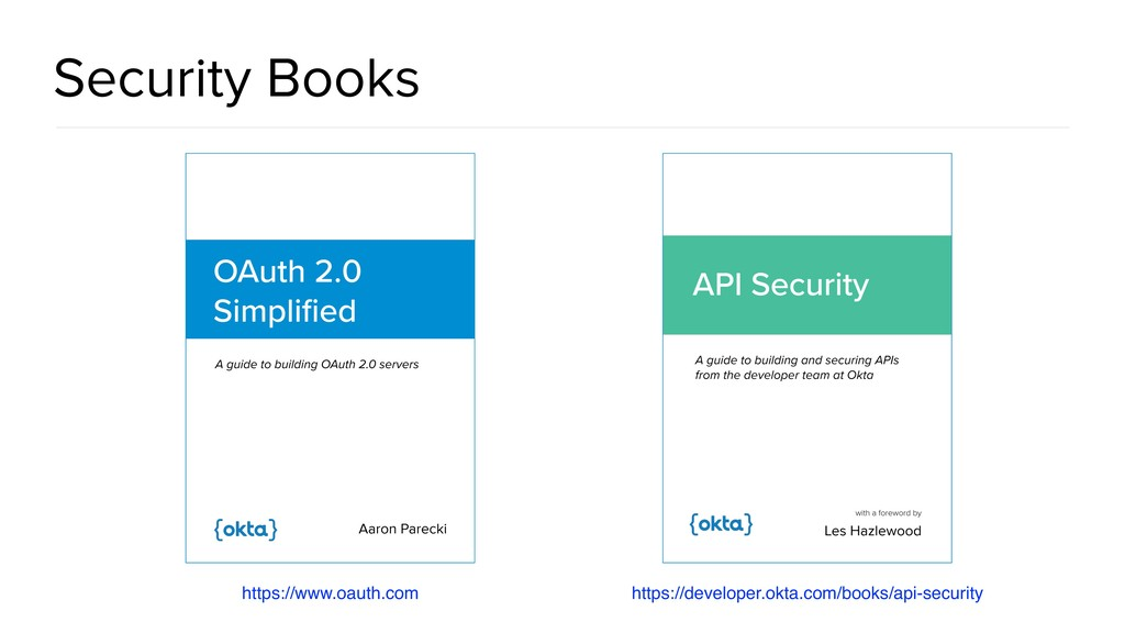 Security Books https://developer.okta.com/books...