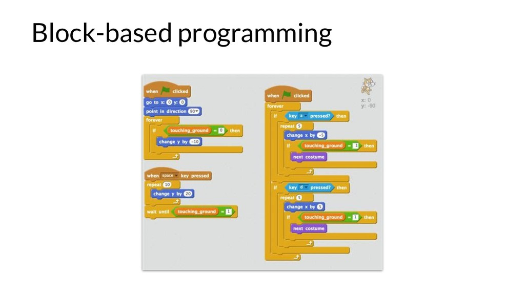 Block-based programming