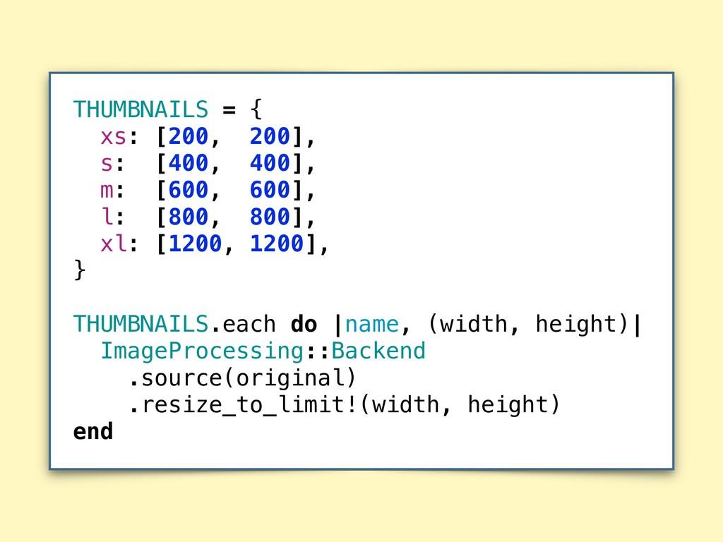 THUMBNAILS = { xs: [200, 200], s: [400, 400], m...