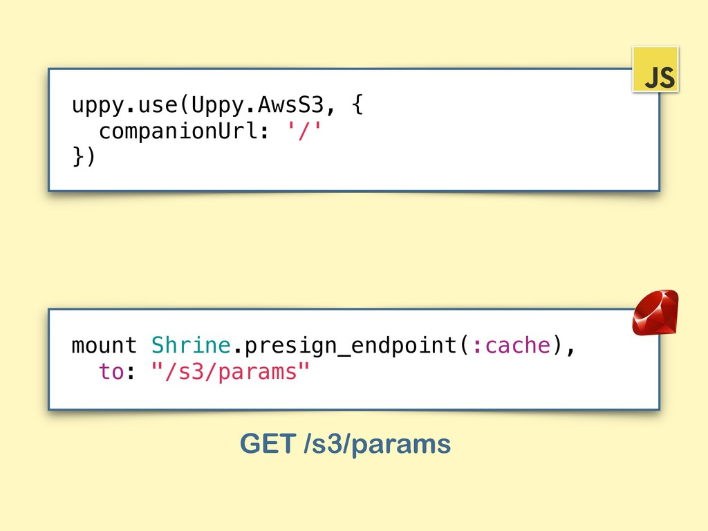 """mount Shrine.presign_endpoint(:cache), to: """"/s3..."""
