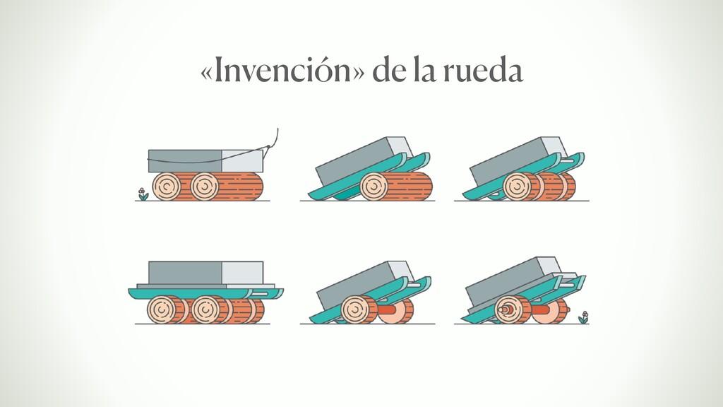 «Invención» de la rueda