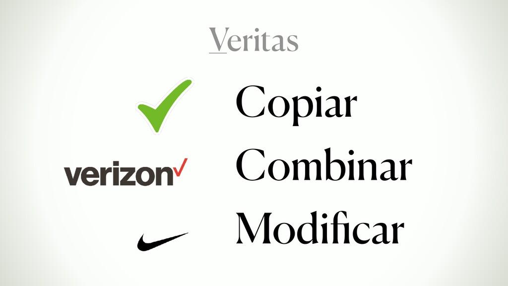 Copiar Combinar Modificar Veritas