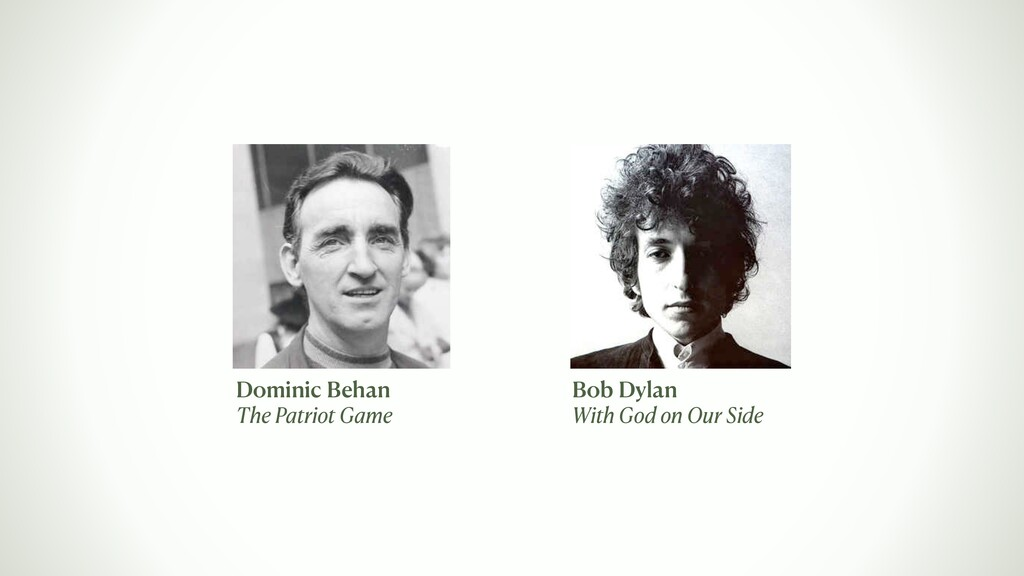 Dominic Behan The Patriot Game Bob Dylan With G...