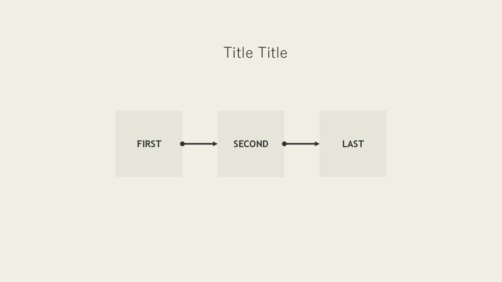 SECOND FIRST LAST Title Title