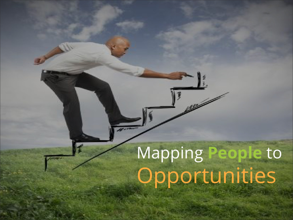 Mapping People to Opportunities