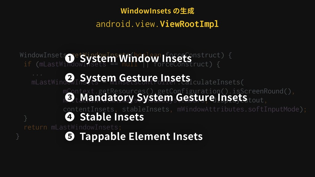 WindowInsets getWindowInsets(boolean forceConst...