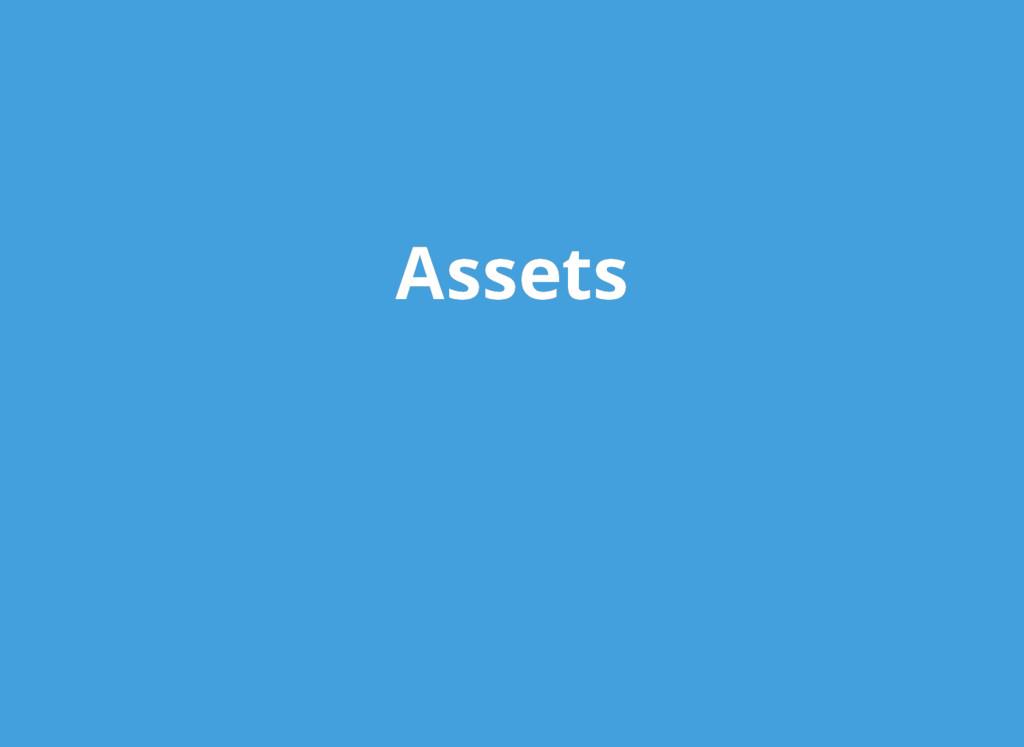 Assets Assets