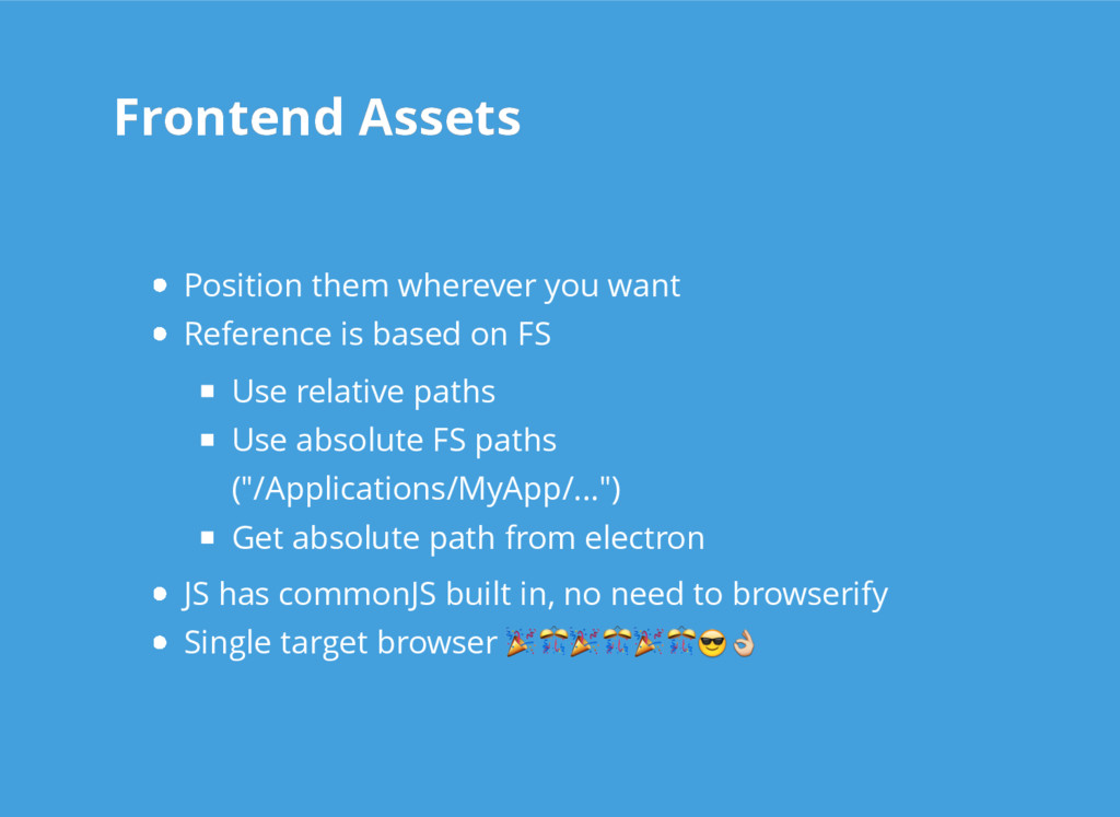 Frontend Assets Frontend Assets Position them w...
