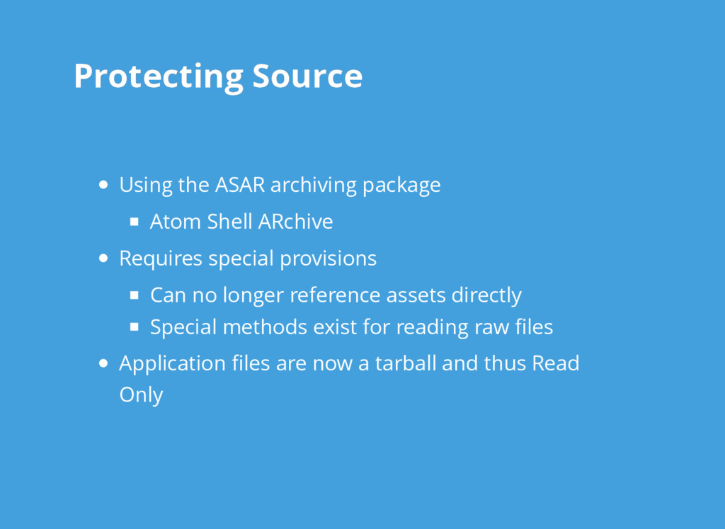 Protecting Source Protecting Source Using the A...