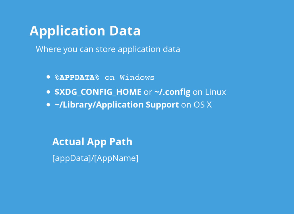 Application Data Application Data $XDG_CONFIG_H...