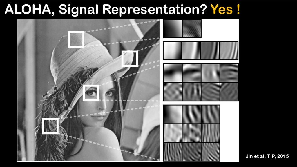 ALOHA, Signal Representation? Yes ! Jin et al, ...