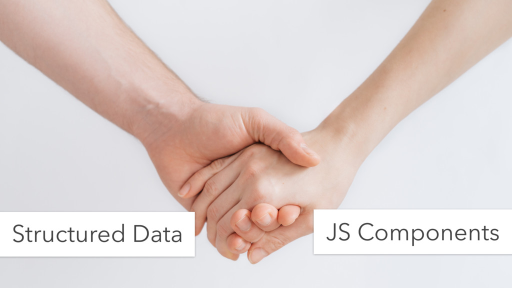 Structured Data JS Components