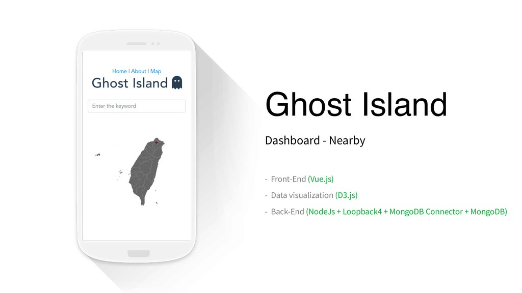 Ghost Island Dashboard - Nearby - Front-End (Vu...