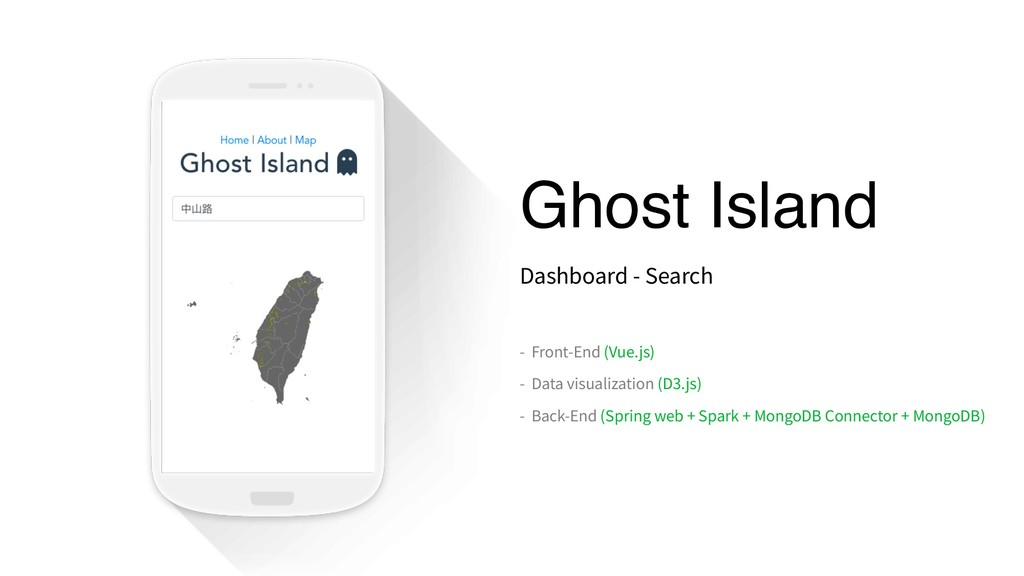 Ghost Island Dashboard - Search - Front-End (Vu...