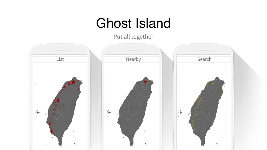 Ghost Island Put all together List Nearby Search