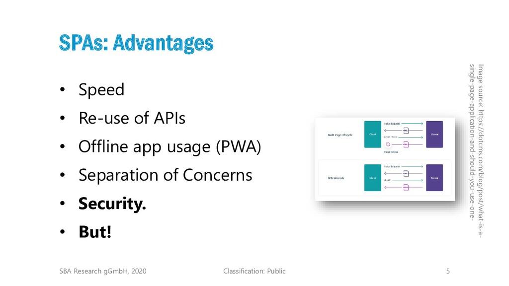 Classification: Public 5 SPAs: Advantages • Spe...