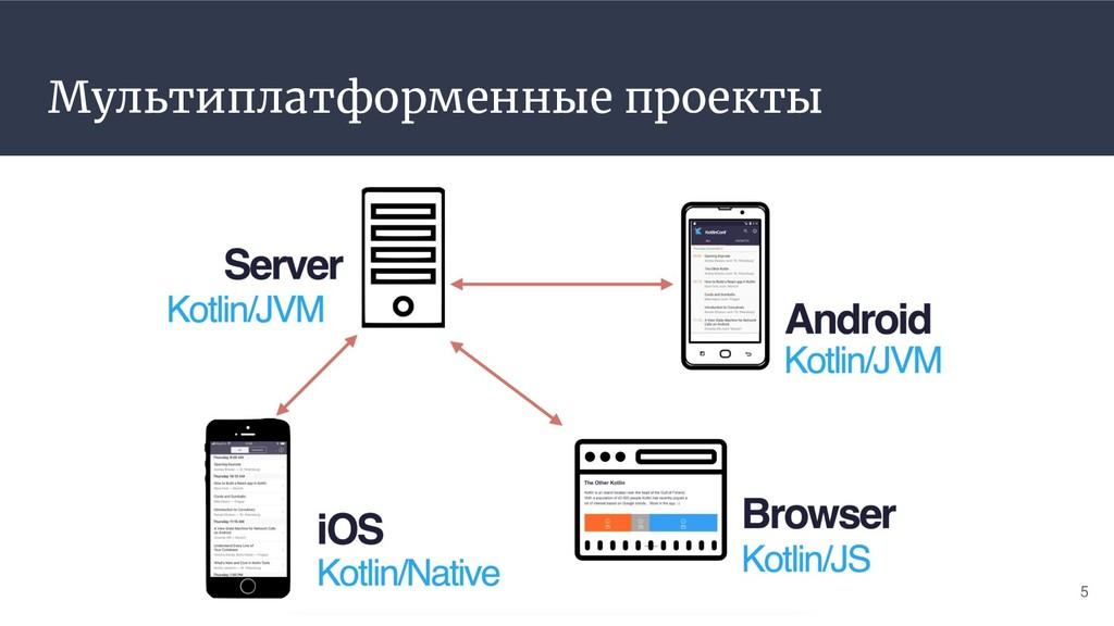 Мультиплатформенные проекты 5