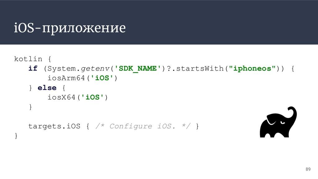 iOS-приложение 89 kotlin { if (System.getenv('S...