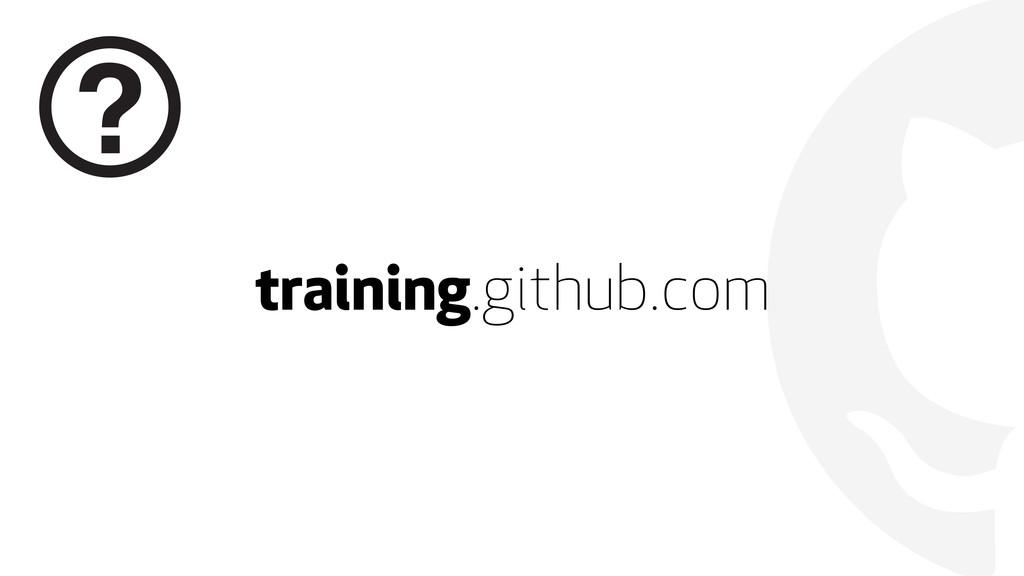  training.github.com