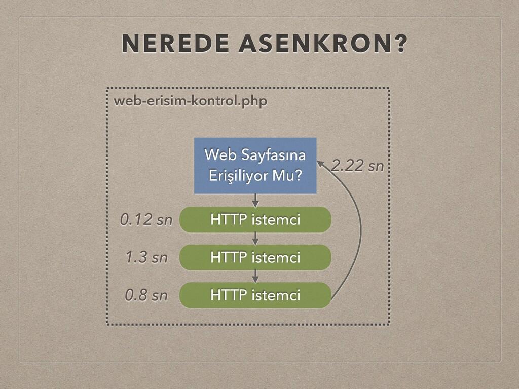 NEREDE ASENKRON? Web Sayfasına Erişiliyor Mu? H...