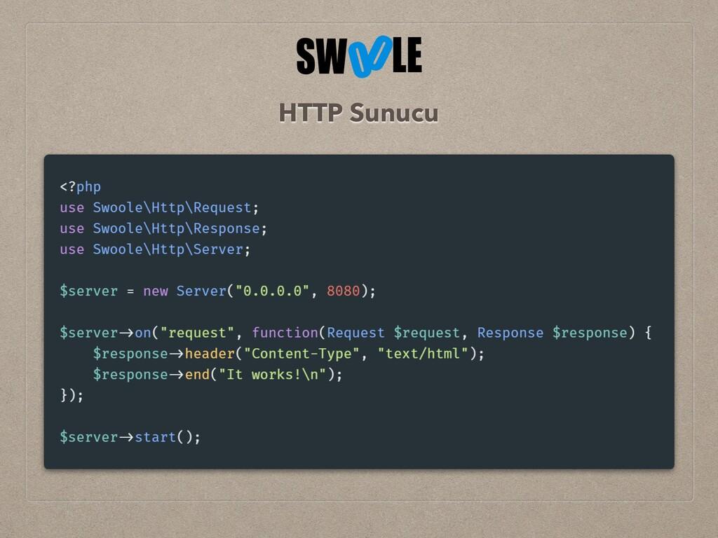 HTTP Sunucu