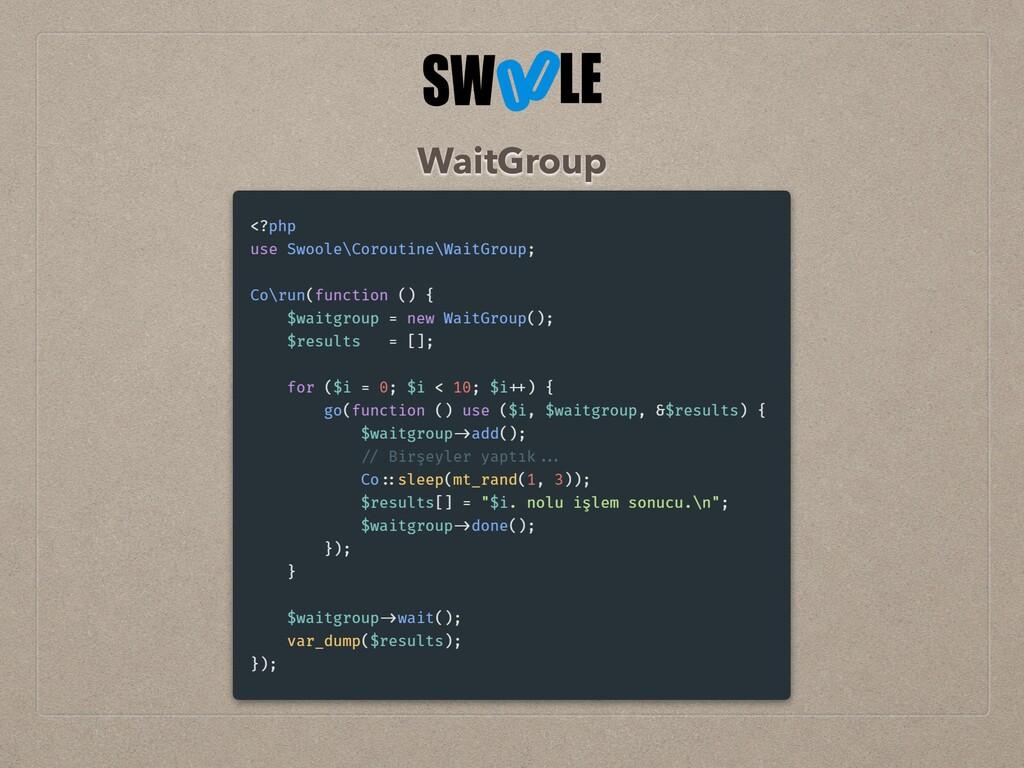 WaitGroup