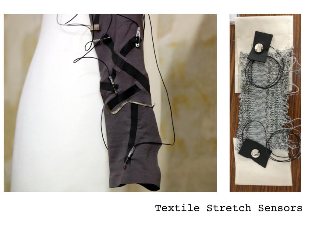 Textile Stretch Sensors